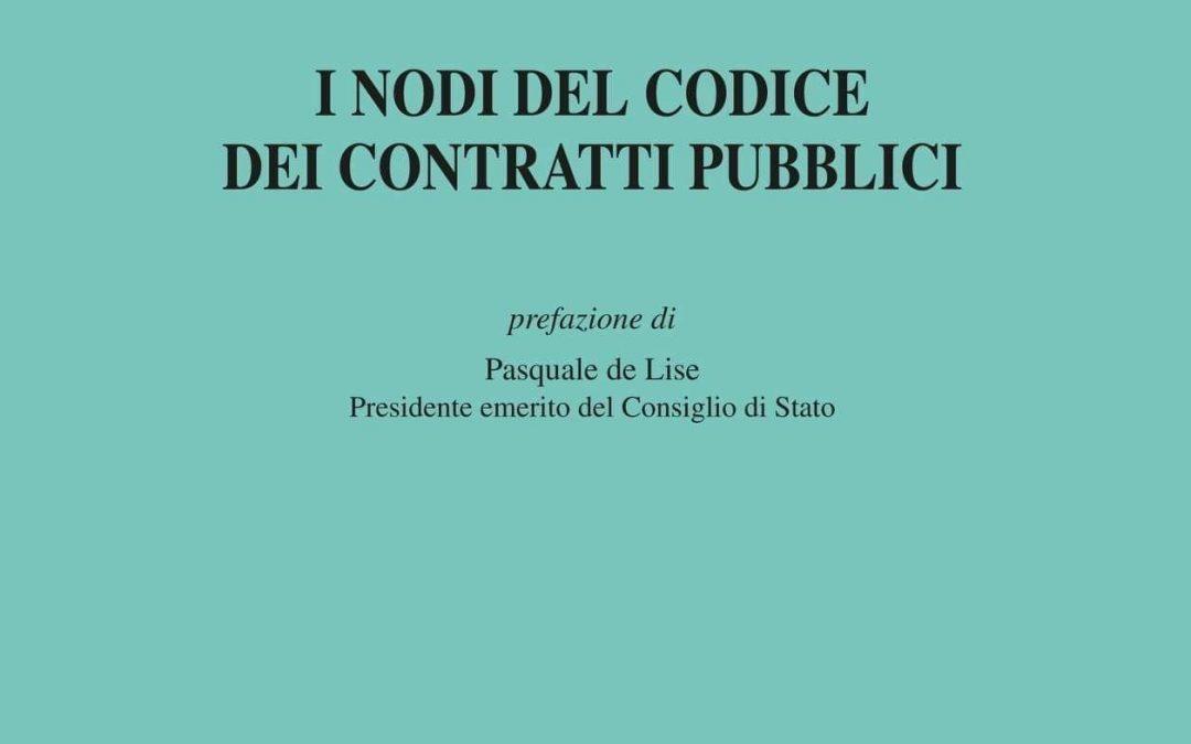 I nodi del Codice dei contratti pubblici